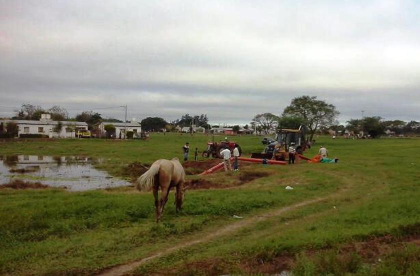 Bella Vista con saldos positivos en nuevos sistemas de desagüe