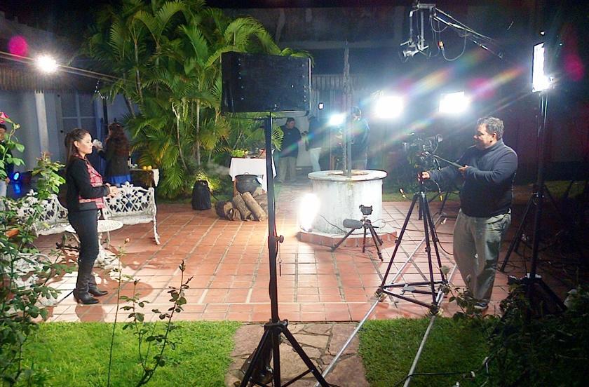 Bella Vista destacada en la televisión regional