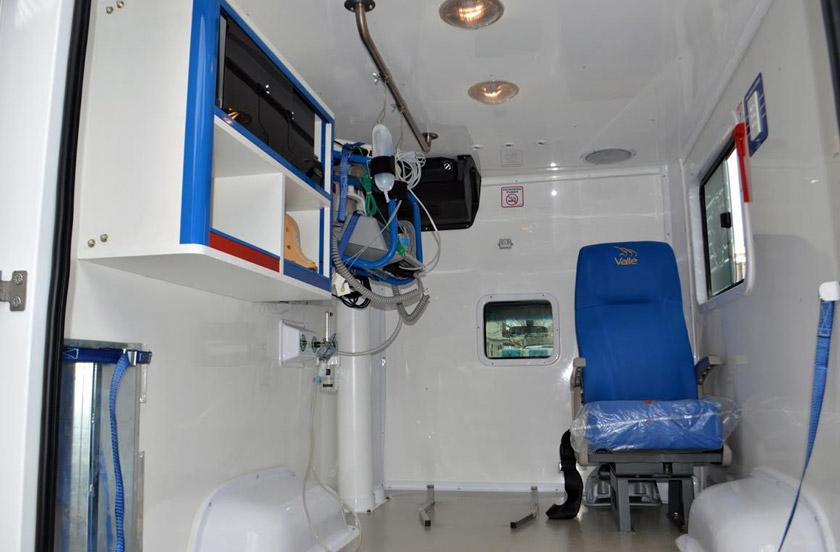 Ambulancia 0 Km para emergencias médicas