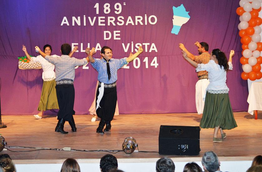 Bella Vista festeja sus 189 años