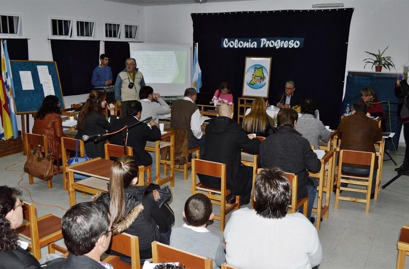 El HCD sesionó en Colonia Progreso