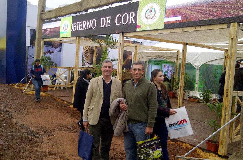 Chavez en el INTA EXPONE NEA 2014