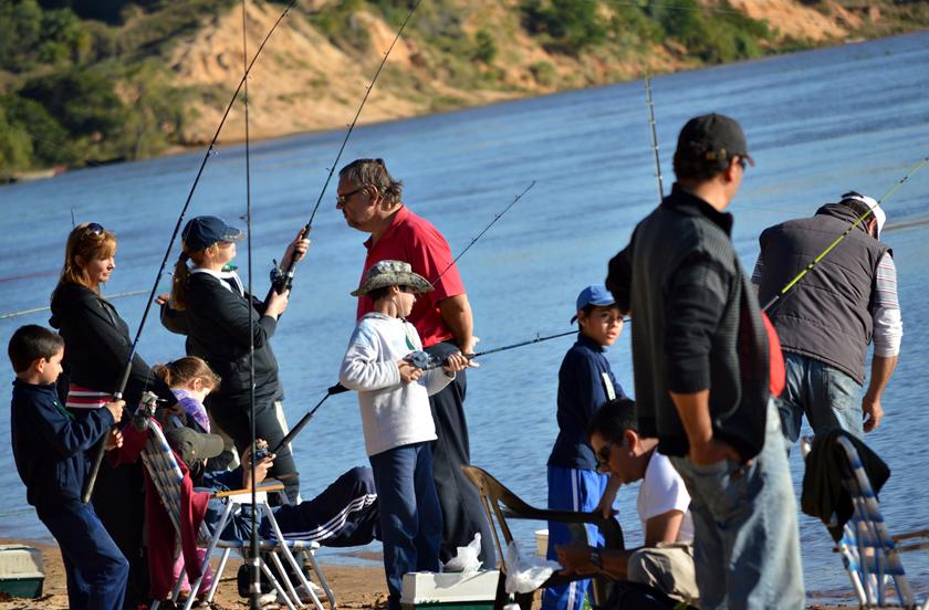 Pesca de Costa en la apertura de los festejos de Bella Vista