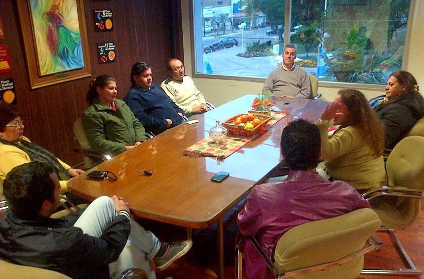 Primera reunión Municipio-Intercomparsa