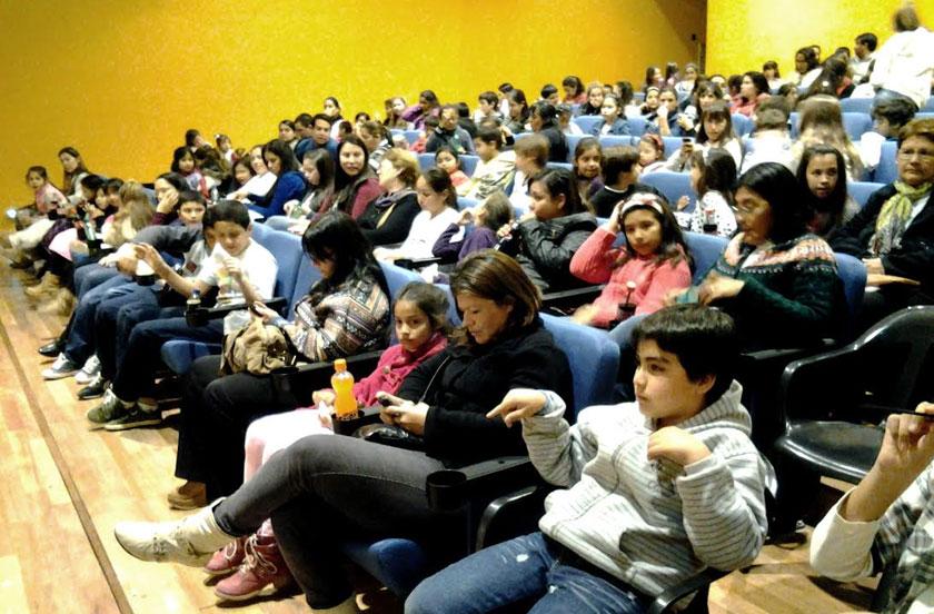 Masivo público en el Cine de Invierno