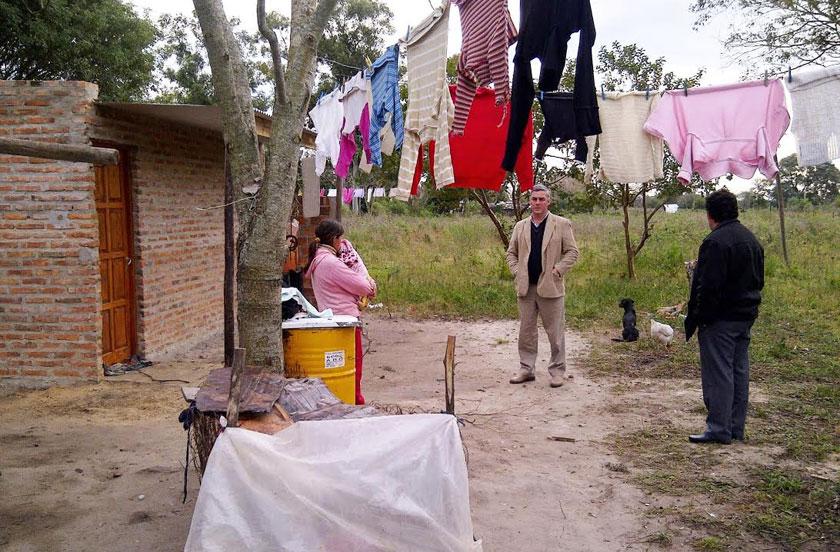El municipio con ayuda social en Colonia Progreso