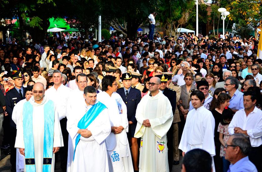 Fiesta de la Virgen del Carmen en Bella Vista