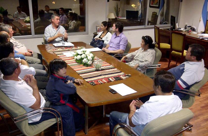 Reunión Municipio-Cámara de Turismo
