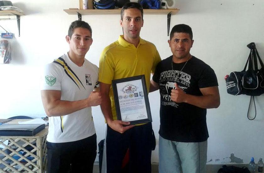 Deporte municipal recibe distinción del Taekwondo