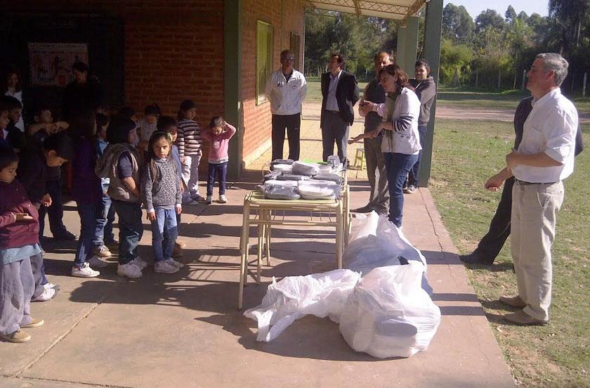 Autoridades comunales visitaron la Escuela Fe y Alegría
