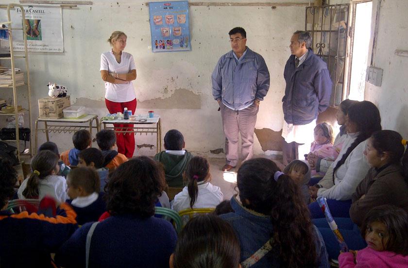 La salud bucal en escuelas rurales