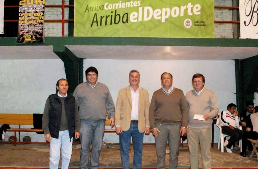 El gobierno provincial envió fondos de ayuda al Club Estrada