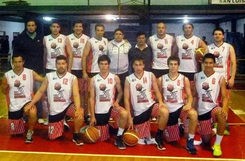 Buen debut de Estrada en el provincial de básquet