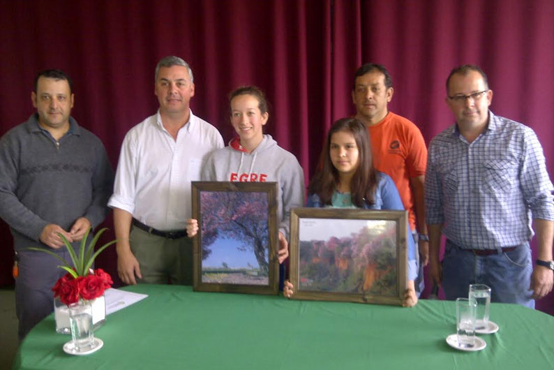 Entregaron los premios del concurso Bella Vista y sus lapachos