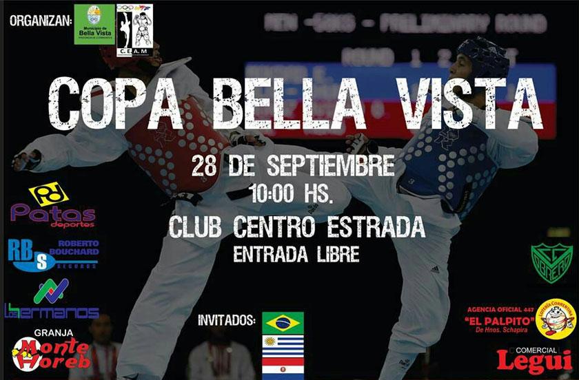 Anticipan la Copa Bella Vista de Taekwondo