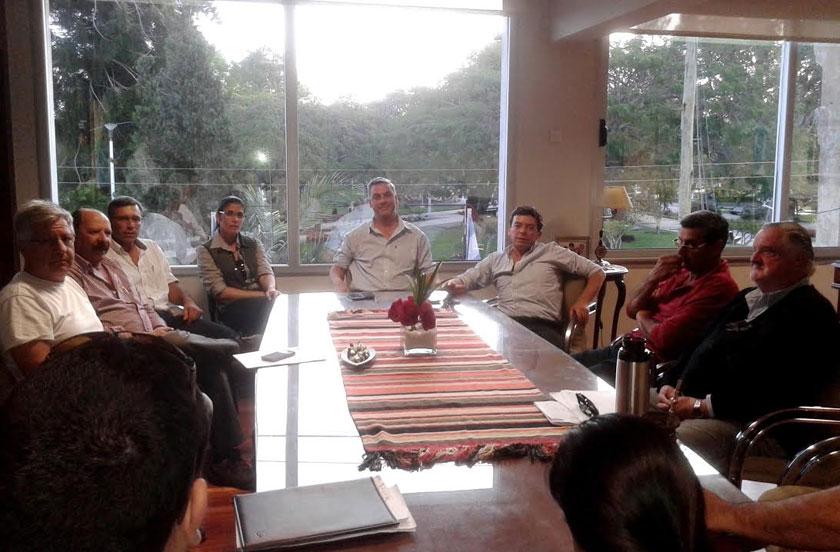 El DEM se reunió con la Asociación de Horticultores