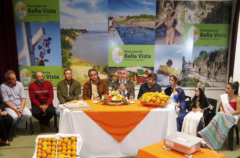 Lanzaron la 12º Fiesta Nacional de la Naranja