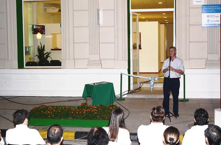 Bella Vista inauguró un moderno Centro de Emisión de Licencias