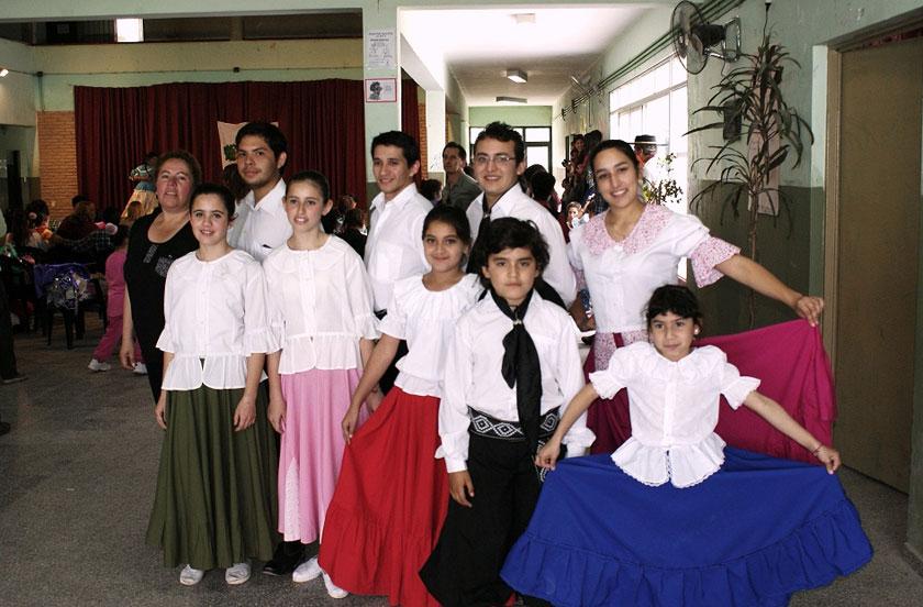 Danzas bellavistenses en San Roque