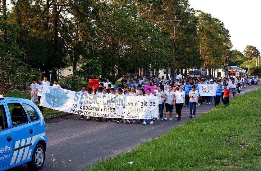 El Sérsic festejó el Día de la Educación Física