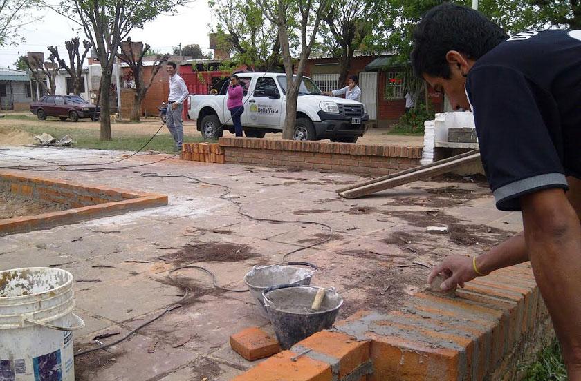 Obras en Barrio 60 Viviendas