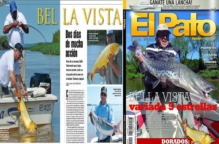 Weekend y El Pato reflejan el pesquero de Bella Vista