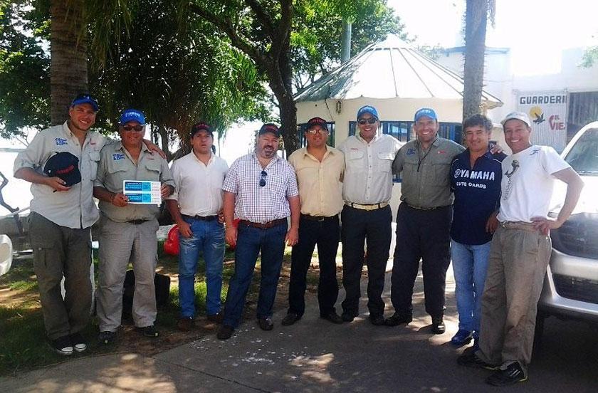 Bella Vista recibió a la expedición Salvemos el Paraná