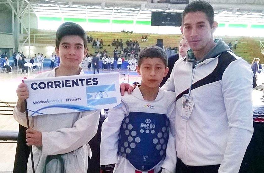 Buenos resultados del taekwondo local en Mendoza