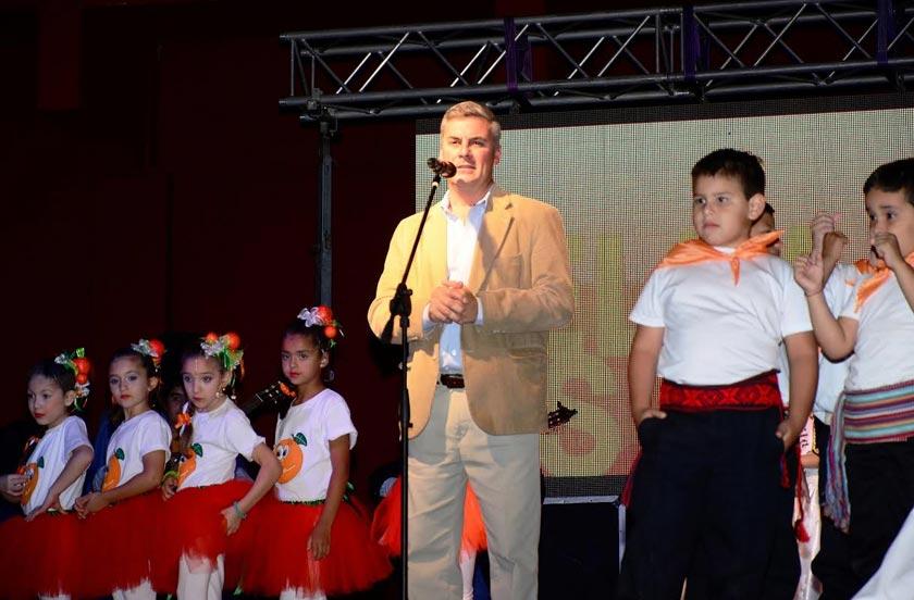 Chavez inauguró la Fiesta Nacional de la Naranja