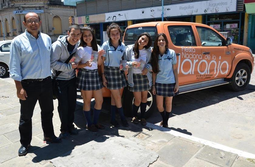 La Fiesta de la Naranja con presencia en Goya