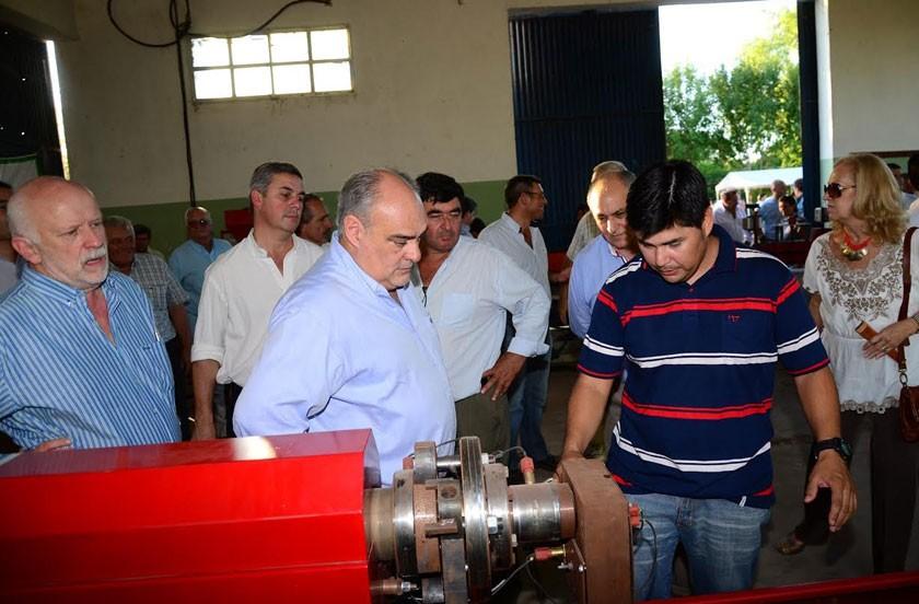 Colombi y Chavez en contacto con los sectores productivos