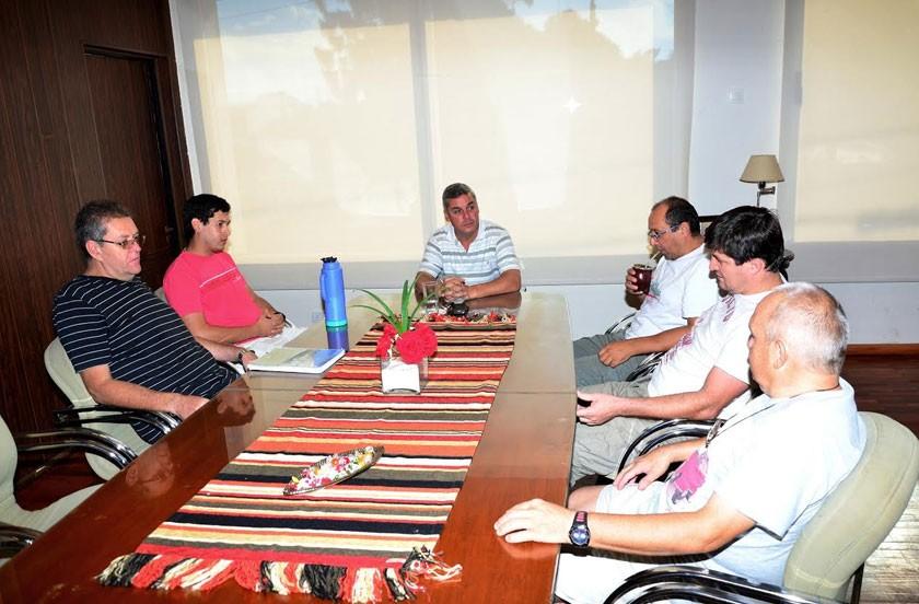 Chavez se reunió con el Motogrupo Explosión