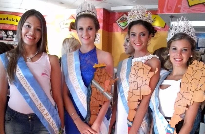Roxana 1º en la Fiesta de Reinas Nacionales