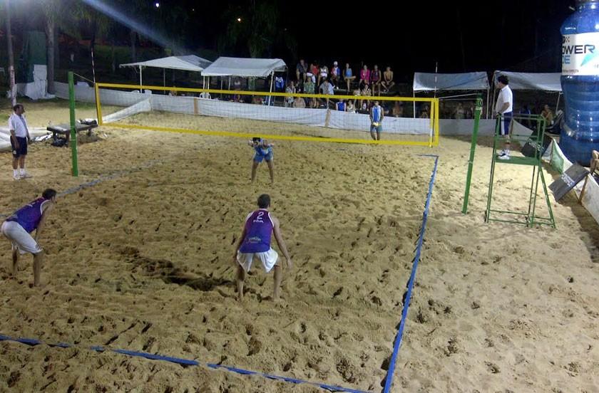 Se juega el nacional de Beach Voley en Bella Vista