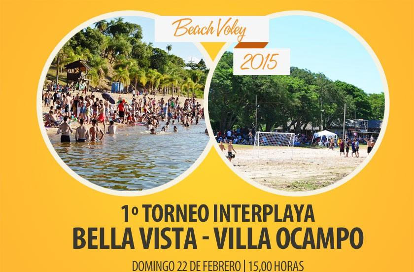 1º Interplaya Bella Vista-Villa Ocampo 2015