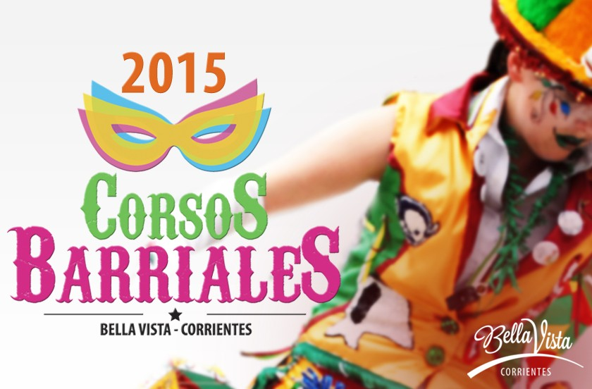 Se largan los Corsos Barriales 2015