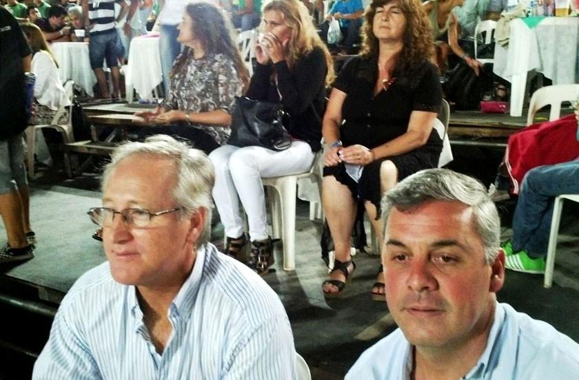 Chavez fue invitado especial en los corsos de Monte Caseros