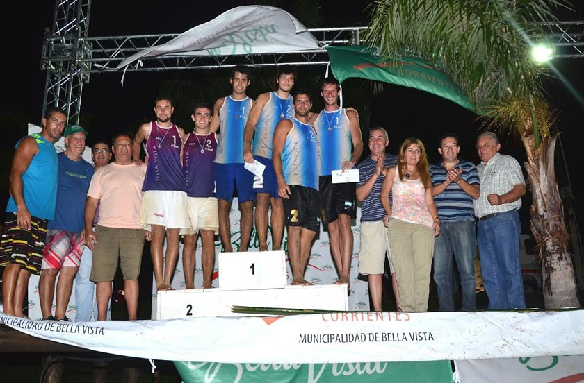 Resultados del nacional de beach voley de Bella Vista