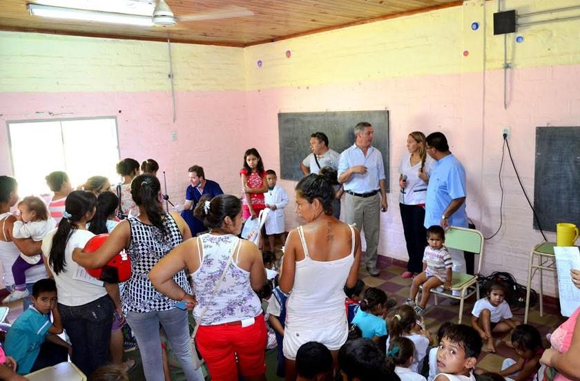 Actividades oficiales en Escuela Fe y Alegría