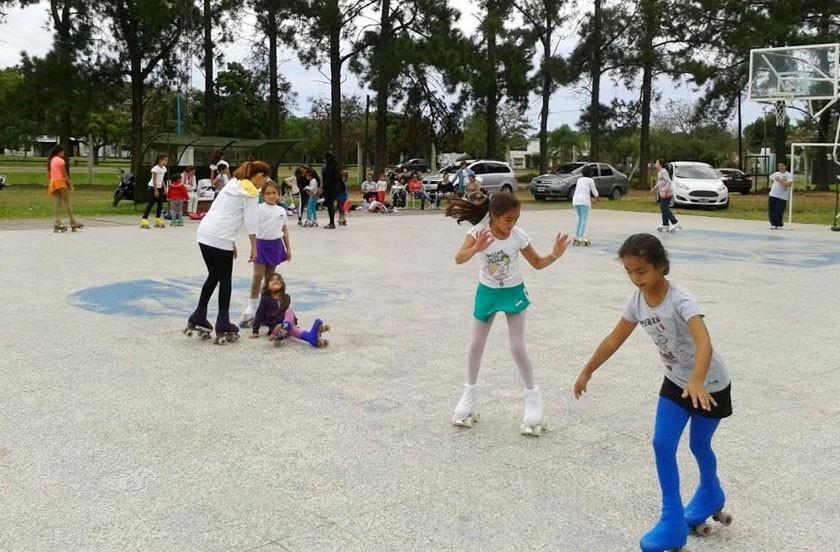 El municipio inauguró las clases de Patín Artístico