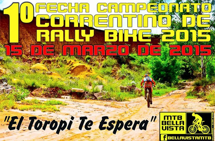 Se corre en Bella Vista la primera del Rally Bike Correntino 2015