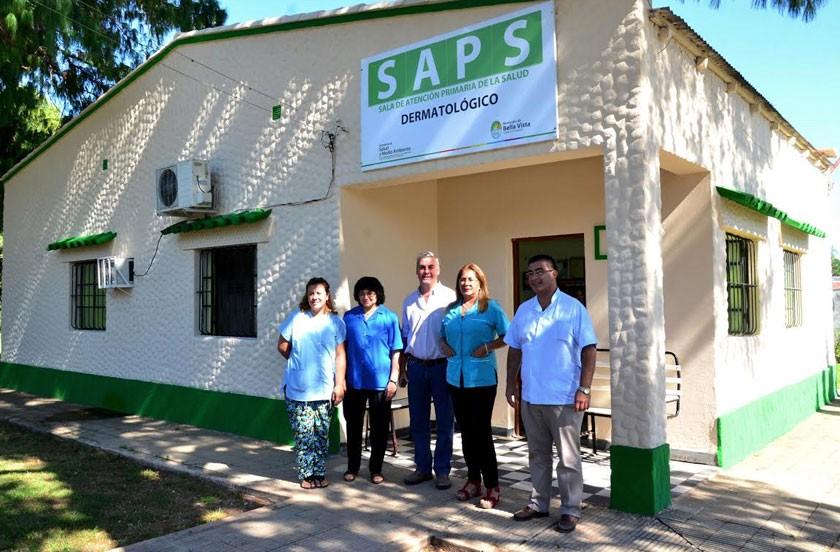 Chavez visitó la SAPS Dermatológico