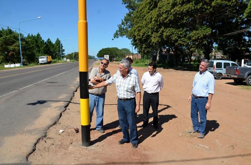 Habilitan nuevos semáforos en Ruta 27