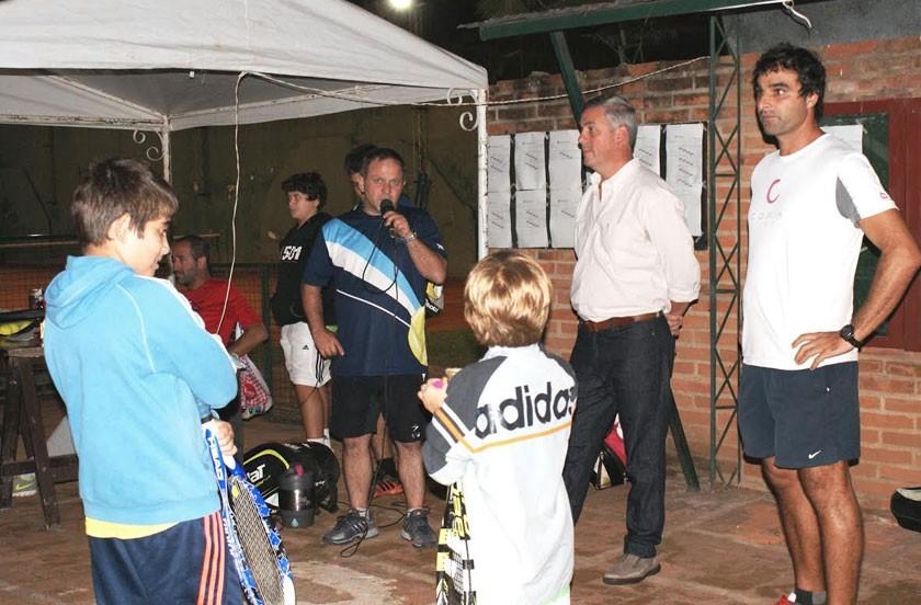 Bella Vista inauguró el calendario 2015 del provincial de Tenis Menores