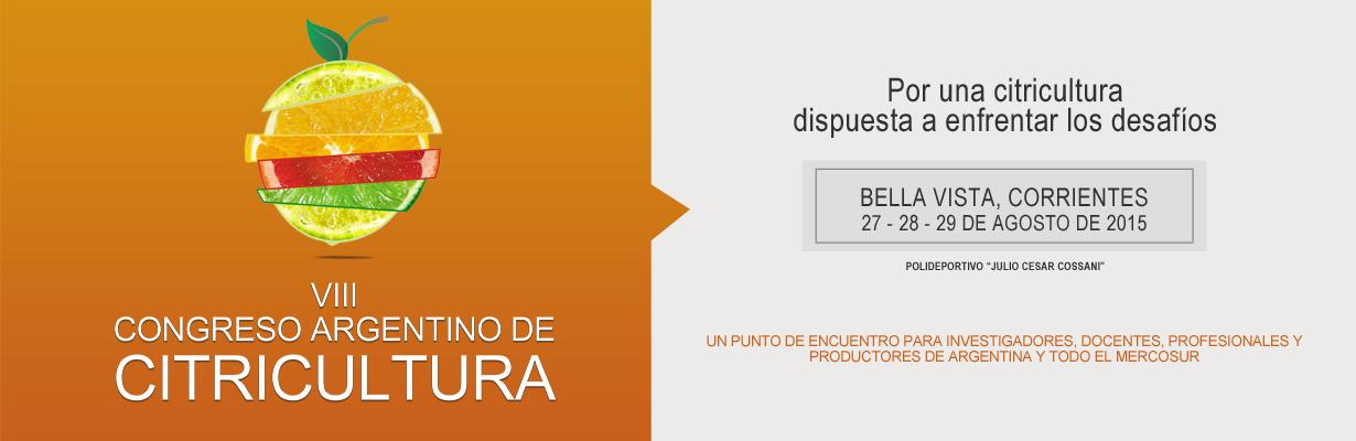 VIII Congreso Argentino de Citricultura