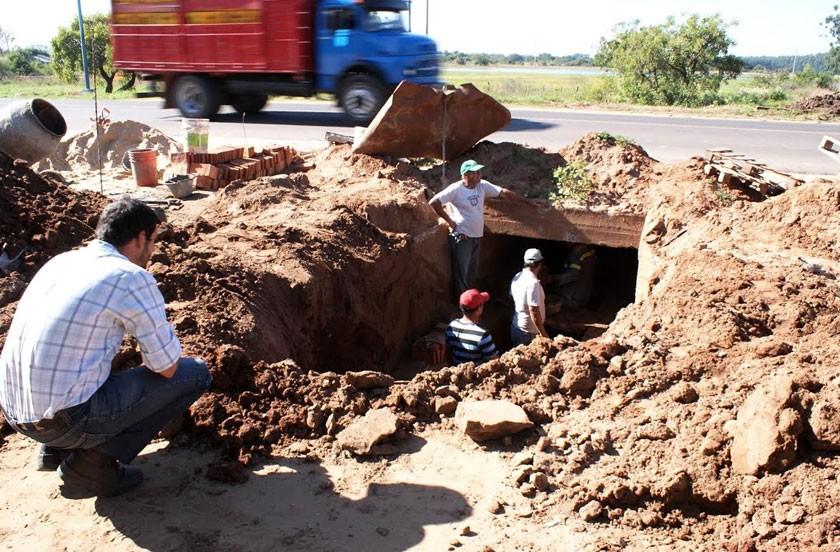 Continúa la recuperación de desagües en zona norte