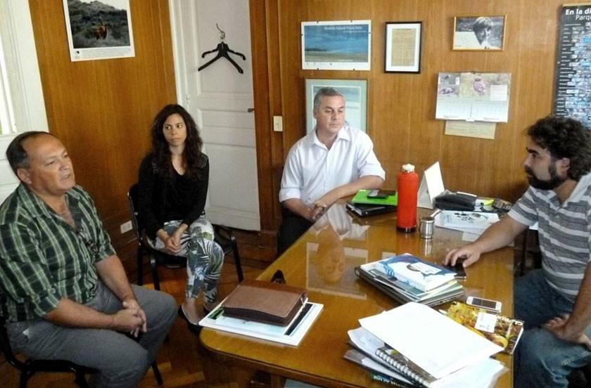 Gestiones oficiales en Buenos Aires