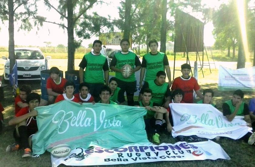 Rugby bellavistense en Curuzú Cuatiá