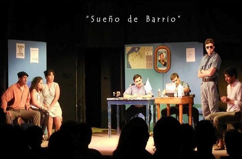 Presentan obra teatral en la Sociedad Italiana