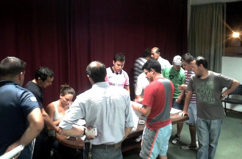 Comienza el 1º Torneo Interinstitucional 2015